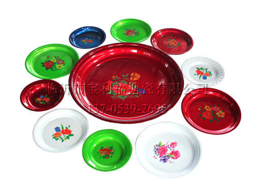 Plastic tea tray